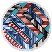 Rfb0627 Round Beach Towel