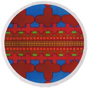 Rfb0630 Round Beach Towel