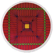 Rfb0639 Round Beach Towel