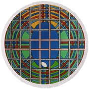 Rfb0706 Round Beach Towel