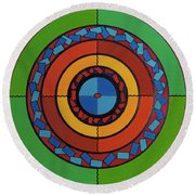Rfb0708 Round Beach Towel