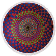 Rfb0715 Round Beach Towel