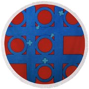 Rfb0803 Round Beach Towel