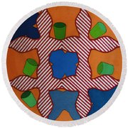 Rfb0806 Round Beach Towel