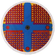 Rfb0807 Round Beach Towel