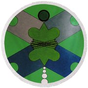 Rfb0921 Round Beach Towel
