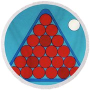 Rfb0930 Round Beach Towel
