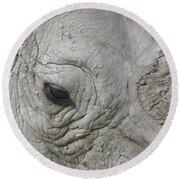Rhino Eye Round Beach Towel