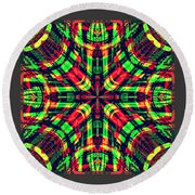 Rhotomic Round Beach Towel