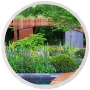 Rhs Chelsea Homebase Urban Retreat Garden Round Beach Towel
