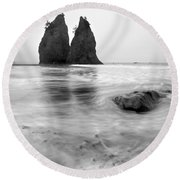 Rialto Reflections Round Beach Towel