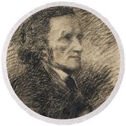 Richard Wagner  Round Beach Towel