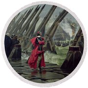 Richelieu Round Beach Towel by Henri-Paul Motte