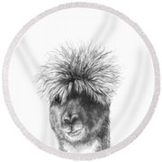 Richmond Round Beach Towel