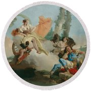 Rinaldo Enchanted By Armida Round Beach Towel