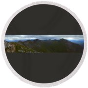 Ring Of Steall Round Beach Towel