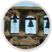 Ringing Bells Round Beach Towel