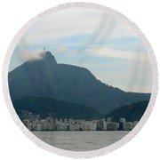Rio De Janeiro I Round Beach Towel