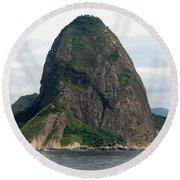 Rio De Janeiro IIi Round Beach Towel