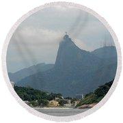 Rio De Janeiro Iv Round Beach Towel
