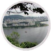 Rio De Janeiro Vii Round Beach Towel