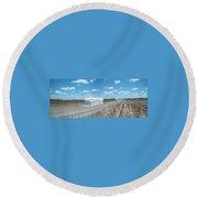 Rio Roadside Series #30 Round Beach Towel