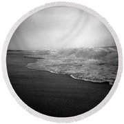 Ripple Effect Round Beach Towel