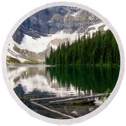 Rippled Mirror Round Beach Towel