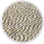 Ripples In The Sand IIi Round Beach Towel