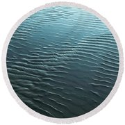 Rippling Beauty  Round Beach Towel