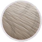 Rippling Round Beach Towel by Marilyn Hunt