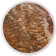 River Bed Round Beach Towel
