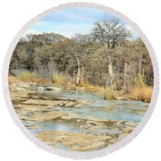 River Bottom Round Beach Towel