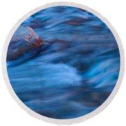 River Flows Round Beach Towel