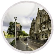 River Ness Round Beach Towel