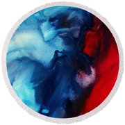 River Of Dreams 3 By Madart Round Beach Towel
