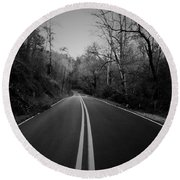 River Road One Round Beach Towel