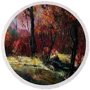 River Ywoigne Round Beach Towel