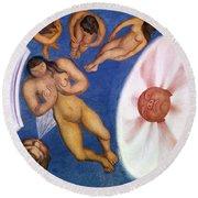 Rivera: Nudes Round Beach Towel