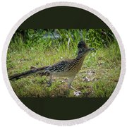 Roadrunner Round Beach Towel
