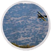 Rob Caster In Miss Diane, Friday Morning 16x9 Aspect Signature Edition Round Beach Towel