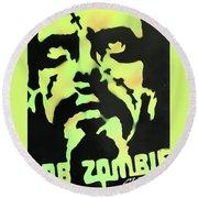 Zombie Round Beach Towel