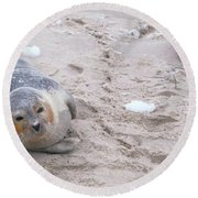 Robby Round Beach Towel