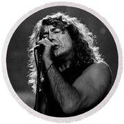Robert Plant-0041 Round Beach Towel