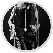 Robert Plant-0064 Round Beach Towel