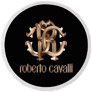 Roberto Cavalli Round Beach Towel