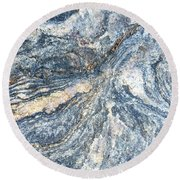 Rock Abstract Round Beach Towel