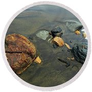 Rock Collection Round Beach Towel