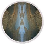 Rock Gods Seabird Of Old Orchard Round Beach Towel