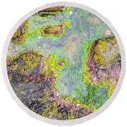 Rock Pool Round Beach Towel